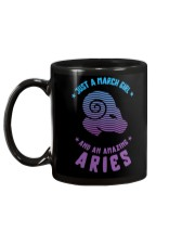March Girl an Amazing Aries Mug back
