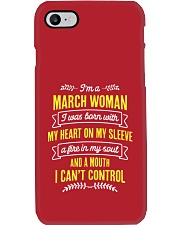 I'm a March Woman Phone Case thumbnail