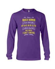 I'm a March Woman Long Sleeve Tee thumbnail