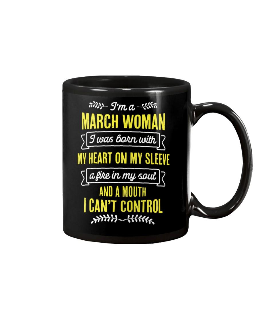 I'm a March Woman Mug