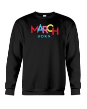 March Born Crewneck Sweatshirt thumbnail