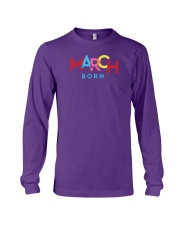 March Born Long Sleeve Tee tile