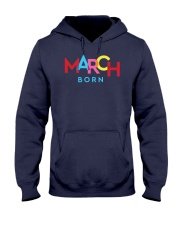 March Born Hooded Sweatshirt tile