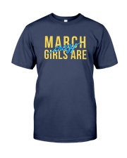 March Girls are Crazy Premium Fit Mens Tee tile