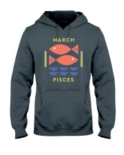 March Pisces Hooded Sweatshirt thumbnail