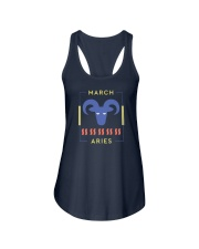 March Aries Ladies Flowy Tank thumbnail