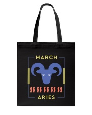 March Aries Tote Bag thumbnail