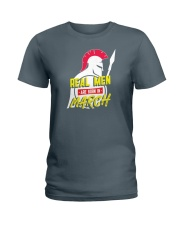 Real Men are Born in March Ladies T-Shirt thumbnail
