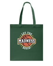 Let the Madness Begin Tote Bag thumbnail