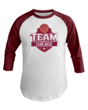 Team Chicago Baseball Tee front