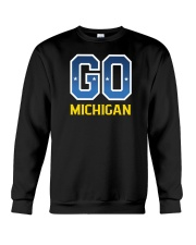 GO Michigan Crewneck Sweatshirt front