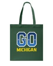 GO Michigan Tote Bag thumbnail