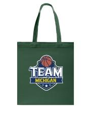 Team Michigan Tote Bag back