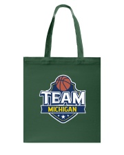 Team Michigan Tote Bag front