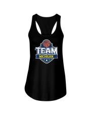 Team Michigan Ladies Flowy Tank thumbnail