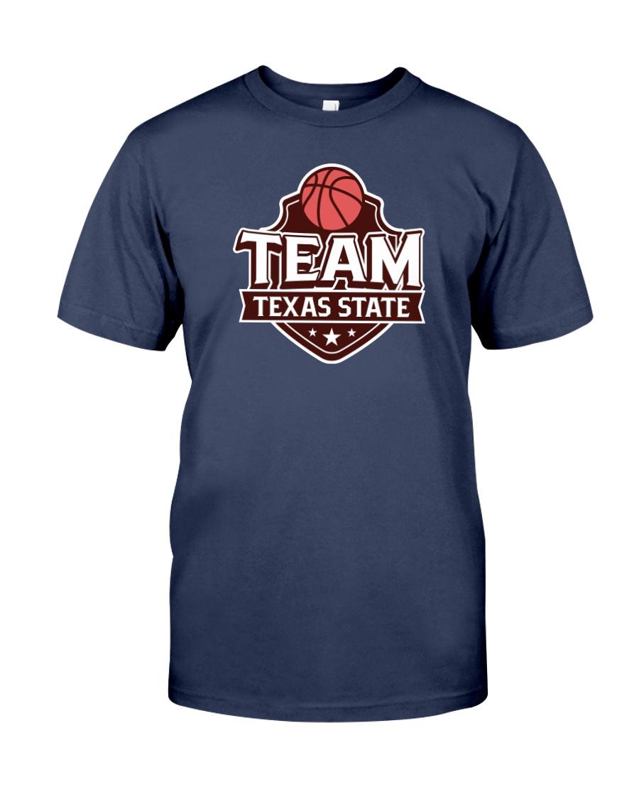 Team Texas State Premium Fit Mens Tee