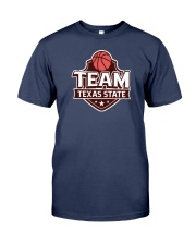 Team Texas State Premium Fit Mens Tee front