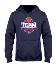 Team Clemson Hooded Sweatshirt front