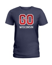 GO Wisconsin Ladies T-Shirt thumbnail