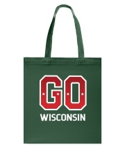 GO Wisconsin Tote Bag tile