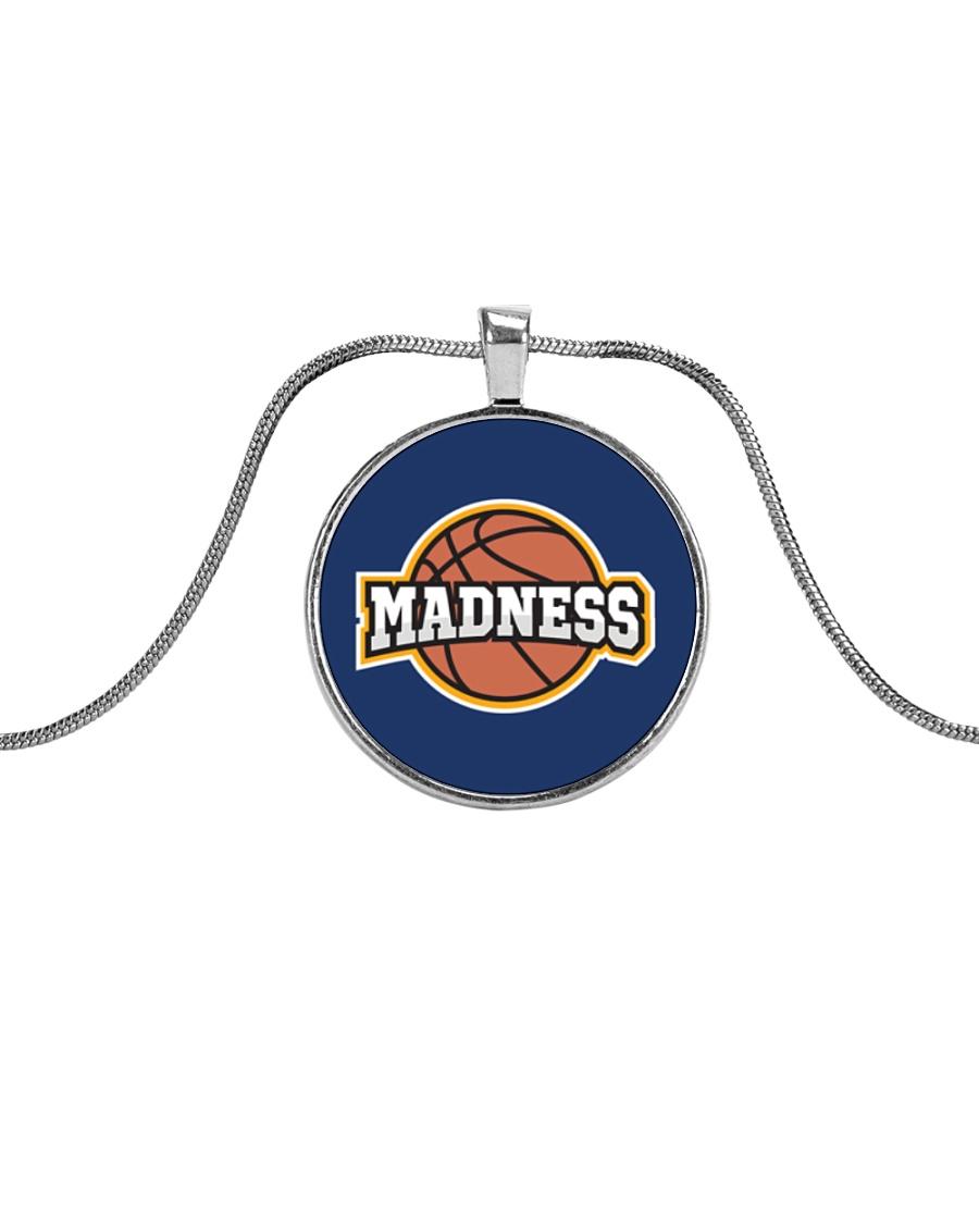 Madness Season  Metallic Circle Necklace