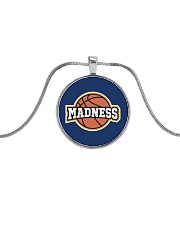 Madness Season  Metallic Circle Necklace tile