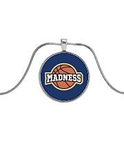 Madness Season  Metallic Circle Necklace front