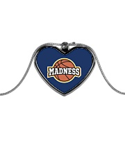 Madness Season  Metallic Heart Necklace front