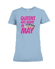 Queens Are Born in May Premium Fit Ladies Tee tile