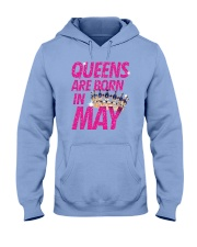 Queens Are Born in May Hooded Sweatshirt tile