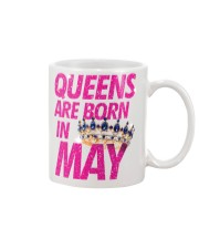 Queens Are Born in May Mug tile