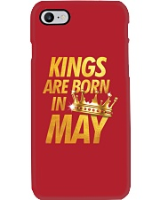 Kings Are Born in May Phone Case thumbnail