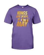 Kings Are Born in May Premium Fit Mens Tee thumbnail