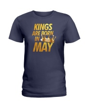 Kings Are Born in May Ladies T-Shirt thumbnail