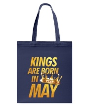 Kings Are Born in May Tote Bag thumbnail