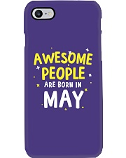 Awesome People Are Born In May Phone Case tile