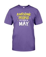 Awesome People Are Born In May Premium Fit Mens Tee tile