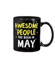 Awesome People Are Born In May Mug tile