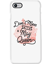 Don't Mess With a May Queen Phone Case thumbnail