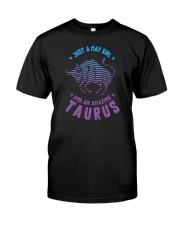 May Girl an Amazing Taurus Classic T-Shirt front