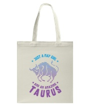 May Girl an Amazing Taurus Tote Bag thumbnail