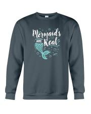 Mermaids Are Real Crewneck Sweatshirt thumbnail