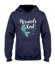 Mermaids Are Real Hooded Sweatshirt thumbnail
