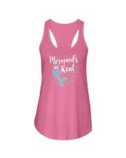 Mermaids Are Real Ladies Flowy Tank thumbnail