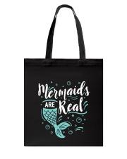 Mermaids Are Real Tote Bag thumbnail