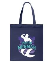 Proud Merman Tote Bag thumbnail