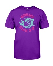 Mermaids Believe In Me Classic T-Shirt front