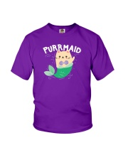 Purrmaid Youth T-Shirt thumbnail