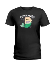 Purrmaid Ladies T-Shirt thumbnail