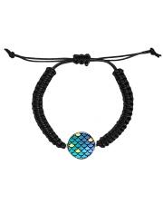 Mermaid Scales Cord Circle Bracelet thumbnail